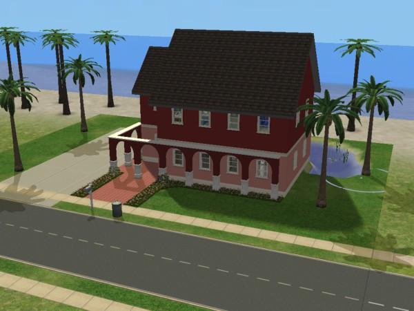 Maison Sims 2 M�lodie